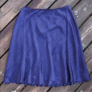 Size 6P BROOKS BROTHERS Silk skirt